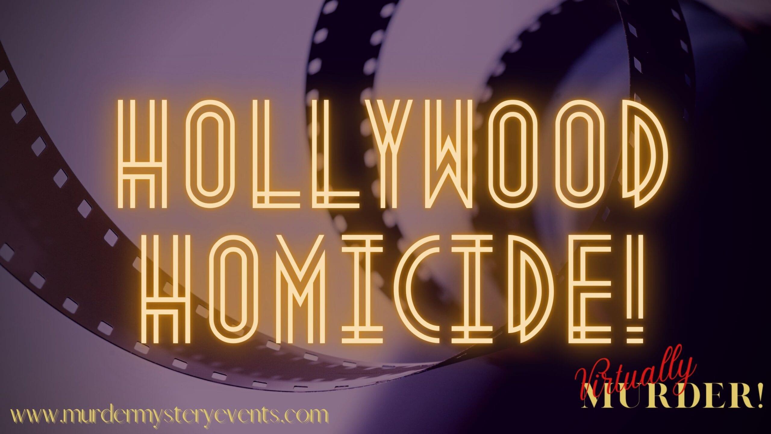Hollywood Homicide Online Murder Mystery